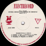 Zeno Vancea - Istoria Muzicii Universale In Exemple Nr. 4 (Inceputurile Operei In Genurile Muzicii Vocal-Simfonice In Sec. XVII-XVIII) (Vinyl)