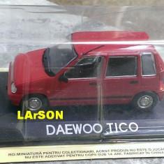 Macheta Daewoo Tico + Revista DeAgostini Masini de Legenda 66, 1:43