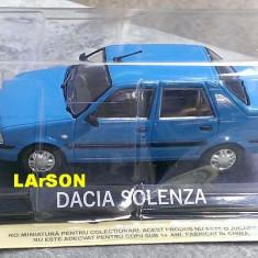 Macheta Dacia Solenza 2003 + revista DeAgostini Masini de Legenda nr.71