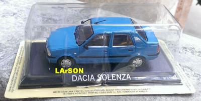 Macheta Dacia Solenza 2003 - DeAgostini Masini de Legenda 1/43 foto