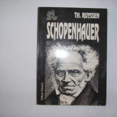 TH.RUYSSEN - SCHOPENHAUER,RF5/4,RF111/4, Alta editura