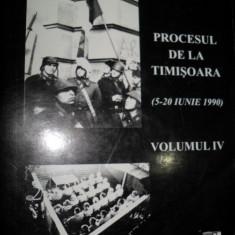 Documente 89, Procesul de la timisoara volumul IV - Istorie