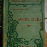 Carte foarte veche de agricultura - anul 1908, Alta editura