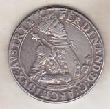 Bnk mnd Austria - Hall - Ferdinand Arhiduce  Thaler  - REPLICA , cupru argintat