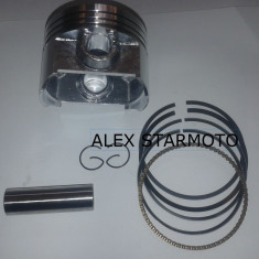 KIT / SET PISTON + SEGMENTI , ATV 250CC /CG250-STANDAR DIAMETRU 67 / BOLT 16 / 4 TIMPI .