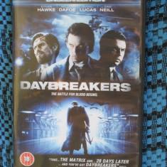 DAYBREAKERS (cu ETHAN HAWKE) - film 1 DVD (original - CA NOU!!!), Engleza
