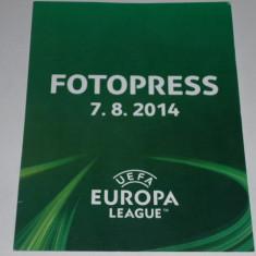 Acreditare meci fotbal VIKTORIA Plzen - PETROLUL Ploiesti Europa League 2014 - Bilet meci