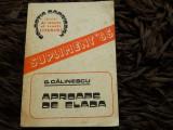 Aproape de Elada, George Calinescu, Revista de istorie si teorie literara, 1985
