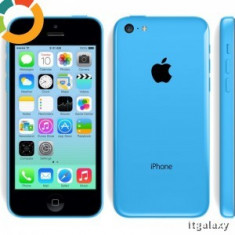 Telefon Smartphone APPLE iPhone 5C 16GB Blue, Albastru, Neblocat