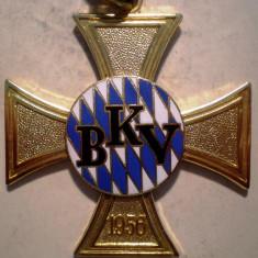 5.369 GERMANIA ORDIN BKV BAYERISCHE KAMERADEN UND SOLDATENVEREINIGUNG 1956 50mm email, Europa