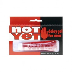 Not Yet Delay gel contra ejaculare precoce, 15ml - Stimulente sexuale, Intarzierea ejacularii