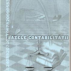 (C4963) BAZELE CONTABILITATII DE DANIELA SIMTION, EDITURA ALMA MATER, SIBIU, 2002 - Carte Contabilitate