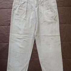 Pantaloni raiati Tommy Hilfiger; marime 31: 82 cm talie, 111.5 cm lungime - Pantaloni dama Tommy Hilfiger, Culoare: Din imagine