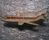 I.627 INSIGNA PIN AVIATIE AIR CHARTER 33mm email