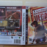Tom Clancy's Rainbow Six: Vegas (PS3) (ALVio) + sute de alte jocuri PS3 ( VAND / SCHIMB )