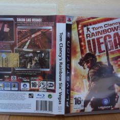 Tom Clancy's Rainbow Six: Vegas (PS3) (ALVio) + sute de alte Jocuri PS3 Ubisoft ( VAND / SCHIMB ), Shooting, 16+