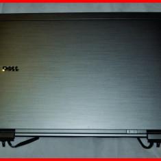 Capac LCD ORIGINAL Dell Latitude E6410 complet cu cabluri si balamale H61GF - Carcasa laptop