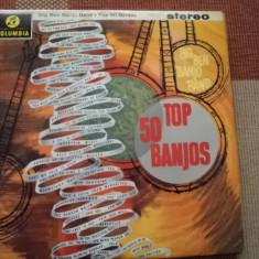 Big Ben Banjo Band Top 50 Banjos disc vinyl lp muzica jazz folk country pop vest - Muzica Pop Columbia, VINIL