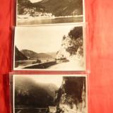 3 Fotografii-Ilustrate- Defileul de la Cazane- interbelice