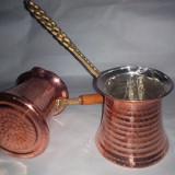 Ibric de cafea turceasca original din cupru NOU 250ml/300ml