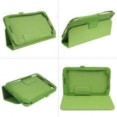 "Husa piele verde Samsung Galaxy Tab 3 8.0"" T310 T311 T315 + folie protectie ecran + expediere gratuita Posta - sell by Phonica"