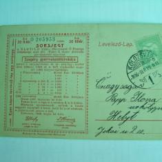 Bilet Loterie tip ilustrata