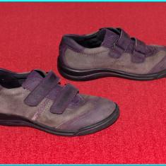 DE FIRMA _ Adidasi / pantofi din piele, comozi, aerisiti, ECCO _ fete | nr. 31 - Adidasi copii Ecco, Culoare: Mov, Piele naturala