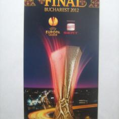 Europa League Bucuresti 2012 / Atletico Madrid - Atletic Club - pliant prezentare oras, stadion, telefoane utile, mijloace de transport