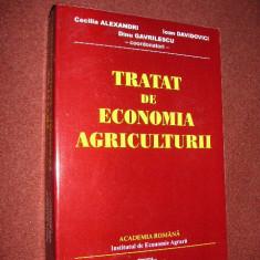 Dinu Gavrilescu, Cecilia Alexandri, Ioan Davidovici - Tratat de economia agriculturii - Carte afaceri