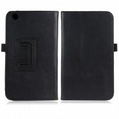 """Husa piele neagra Samsung Galaxy Tab 3 8.0"""" T310 T311 T315"""