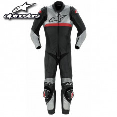 Costum moto Alpinestar Vector + Casca AGV GP PRO+ Cizme SIDI Vertigo - Imbracaminte moto Alpinestars, Combinezoane
