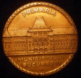 5.197 ROMANIA MEDALIE PRIMARIA MUNICIPIULUI BUCURESTI VARIANTA