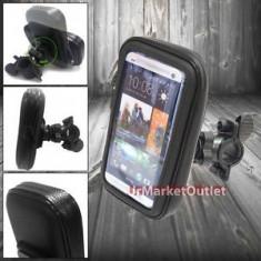 Suport impermeabil waterproof bicicleta sau motocicleta HTC ONE 2 M7 M8 M9 - Suport telefon bicicleta