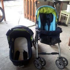 Vand carucior sport +landou Jane Carrera - Carucior copii 2 in 1 Jane, Altele, Pliabil