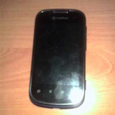 Vand Vodafone Smart 2 - Telefon mobil Vodafone, Albastru, Single core, 512 MB, 3.2''