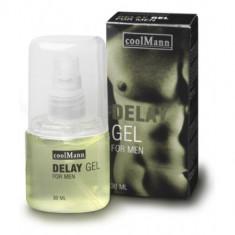 COOL MAN gel pentru intarzierea ejacularii 30 ml - Stimulente sexuale