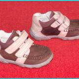 DE FIRMA → Pantofi / ghetute scurte, din piele, comode, ELEFANTEN → fete | nr 22 - Adidasi copii, Culoare: Mov, Piele naturala