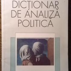 Carte - Jack C. Piano, Robert E. Riggs, Helenan S. Robin - Dictionar de analiza politica