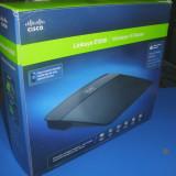 Router Linksys Wireless-N E1200 - Router wireless Linksys, Port USB, Porturi LAN: 4