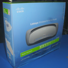 Router wireless Linksys WRT120N, Port USB, Porturi LAN: 4