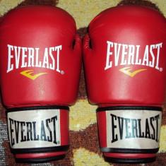 Vand manusi de box Everlast noi - profesionale - Manusi box