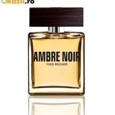 Vand parfum Ambre Noir barbatesc yves rocher - Parfum barbati, 50 ml