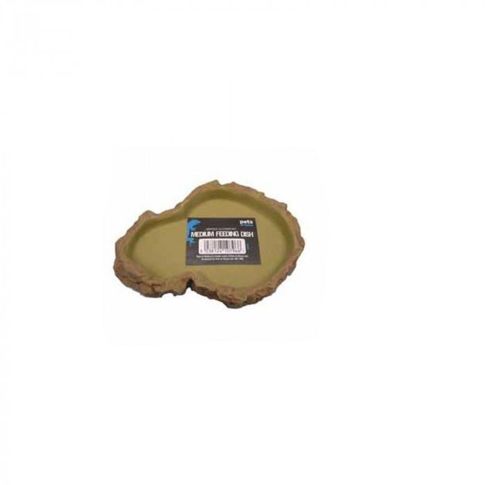 Hranitor-Adapator rezistent pentru reptile si broscute testoase 2,2 x 13,5 x 10 cm