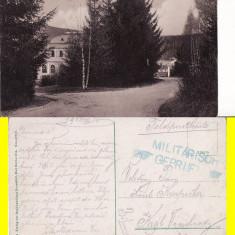 Vatra Dornei (Bucovina, Suceava)- Gradina -rara - Carte Postala Bucovina 1904-1918