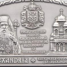 PLACHETA 60 DE ANI DE VIATA P.S. GALACTION - Medalii Romania