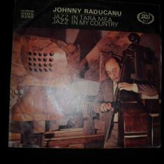 Johnny Răducanu - Jazz In Țara Mea / Jazz In My Country (Seria Jazz Nr. 11) vinil - Muzica Jazz