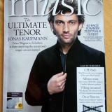 Lot 3 reviste de muzica a BBC - Music BBC, the world's best-selling classical music magazine, Septembrie 2013, Octombrie 2013 si Aprilie 2014