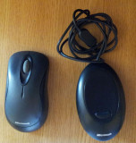 Microsoft Standard Wireless Optical Mouse 1000 -Black, Optica