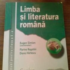 Manual limba si literatura romana clasa a X-a - Manual scolar corint, Clasa 10, Corint