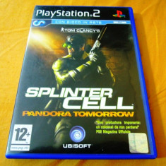 Tom clancy's Splinter Cell Pandora Tomorrow, PS2, original! - Jocuri PS2 Ubisoft, Actiune, 12+, Single player